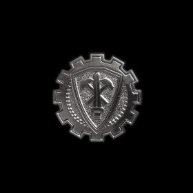 20-Year Commemorative Crest Pin (Black)