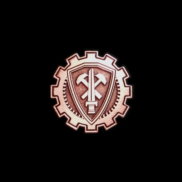 20-Year Commemorative Crest Pin (Copper)