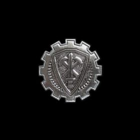 20-Year Commemorative Crest Pin (Silver)