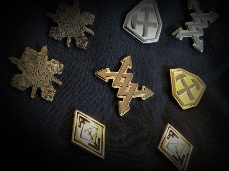 the new ARDITI and PUISSANCE pins